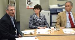 State Reps David Linsky, Carolyn Dykema and Chris Walsh