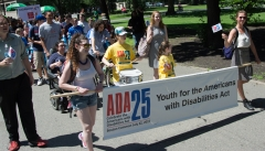 Youth for the Americans with Disabilities Act - youth marchers