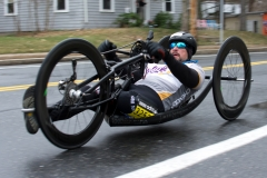 Tom Davis, winner Handcycles, of NY