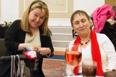 Karen Dempsey (left)