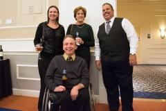 Sadie Simone, Fran Bakstran, David Correia and Mike Kennedy
