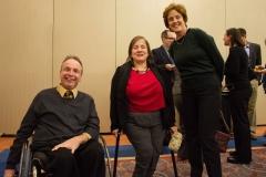 Mike Kennedy, Linda Bellil and Fran Bakstran