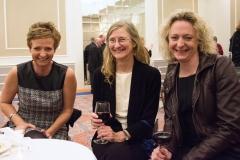Rachel Richards (left) and Ann Shor (center)