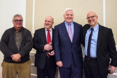Ed Carr, MWRTA (second from left) and Representative Tom Sannicandro (right)