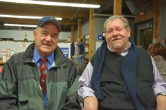 Ed Carr, Admin of MWRTA and Commissioner Charlie Carr