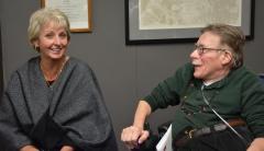 Ann Rudor and Paul Spooner