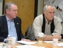 Representative Jeffrey Roy and Representative Chris Walsh