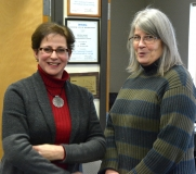 Randi Sargeant of the MRC ReUse program and Pat from MWCIL