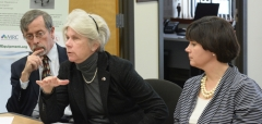 Rep. Alice Peisch and Rep. Carolyn Dykema