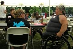 Food tent