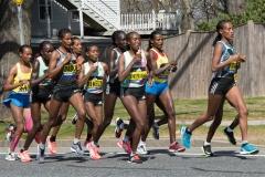 Women lead runners