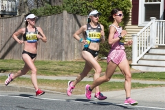 Three women runners