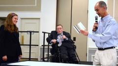 Allegra Heath-Stout, Paul Spooner and Bill Henning