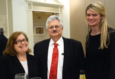 Annette Hines and Mark Worthington of Special Needs Law, with Ashley (MWCIL)