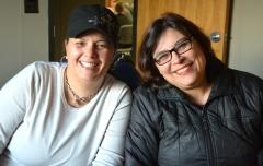 Elizabeth, MWCIL, on the left