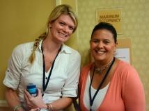 Ashley and Elizabeth from MWCIL