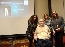 Charlie Carr, Karen Langley and Colleen Starkloff