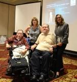 Paul Spooner, Charlie Carr, Karen Langley and Colleen Starkloff