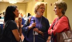 Kerri Zanchi (CLW), Cindy Wentz and Ann Rudor (CLW)