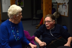Paul Spooner and Eleanor - a consumer with Easter Seals