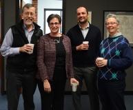 Kirk Joslin- former President Easter Seals, Randi Sargent - MRC, Leo Tonevski and Cindy Aiken - Easter Seals
