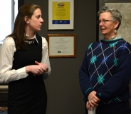 Katelyn Kelly - staff for Rep. David Linsky and Cindy Aiken - Easter Seals MA