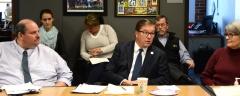 Joe Bellil (l) - Easter Seals, Senator Richard Ross, Pat - MWCIL