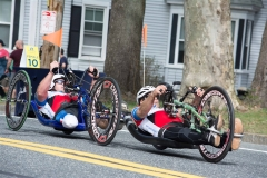 Two Handcycle Racers