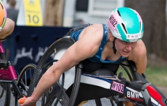 Susannah Scaroni, 3rd place (1:33:17), Illinois