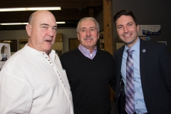 Ed Carr (MWRTA), Dennis Giombetti and Rep. Jack Lewis