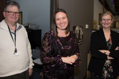 Steve (IA), Sadie (MASILC) and Ann Shor (MRC)