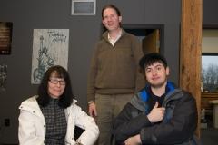Sean (center)