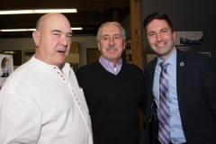 Ed Carr (MWRTA), Dennis Giombetti and Rep. Jack Lewis