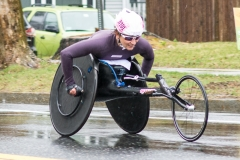 2017 wheelchair winner, Manuela Schar.