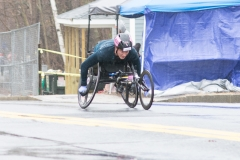 Winner of women's wheelchair - Tatyana McFadden