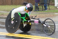 4th place women's wheelchair - Aline Dos Rocha from Brazil