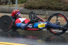 photo of Men's handcycle winner, Tom Davis