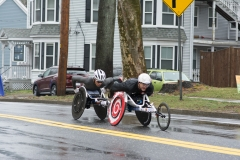 Photo of Two Wheelchair racers one right behind the other - W11 - Joshua Cassidy and another racer right behind him - maybe Masazumi Soejima?