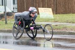 2nd place women's wheelchair racer, Susannah Scaroni