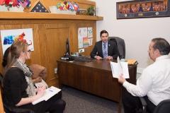 Ashley and David with Representative Jack Lewis