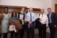 MWCIL Staff with Representative Brian Murray and Rep. Jack Lewis