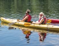 Elizabeth and Sue kayaking (MWCIL)