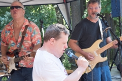 Man sings along with ATTIK Band