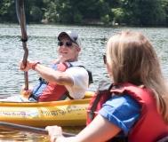Lou (MWCIL) kayaking