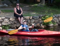 Mike (CLW) kayaking