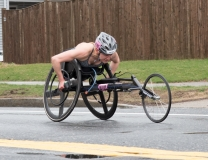 Susannah Scaroni (W103) from Illinois 1:42:34 - 5th place Women's Wheelchair
