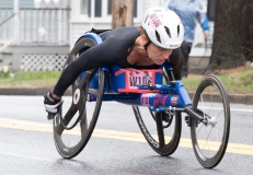 Eliza Ault-Connell (W 106) from Australia 1:41:46 - placed 4th in Women's Wheelchairs
