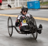 Devann Murphy (H102) from New York 2:01:02 - Women's Handcycle Winner