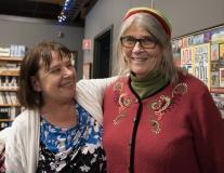 Pat (MWCIL) and Linda