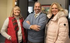 Janet Leumbruno (Framingham City Council), David (MWCIL) and Kim Lembo (Framingham Housing)